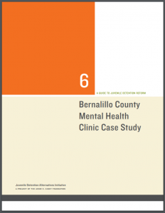 Bernalillo County Mental Health Clinic Case Study Cover