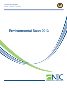 Environmental Scan 2013 cover