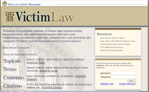 VictimLaw Cover