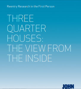 Three Quarter Houses: The View from the Inside Cover