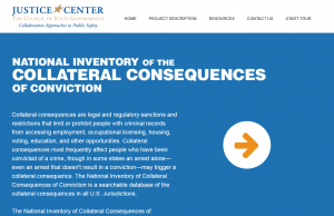 National Inventory of the Collateral Consequences of Conviction Cover
