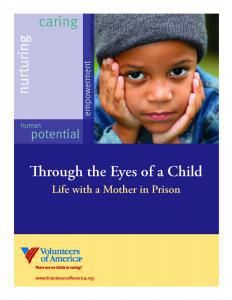 Through the Eyes of a Child: Life with a Mother in Prison Cover