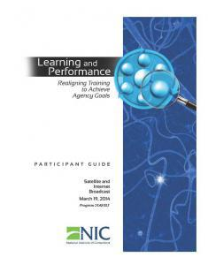 Learning and Performance: Realigning Training to Achieve Agency Goals [Internet Broadcast] Cover