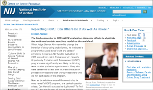 Replicating HOPE: Can Others Do It As Well As Hawaii? Cover