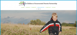 Children of Incarcerated Parents Partnership (COIPP) Resources Cover