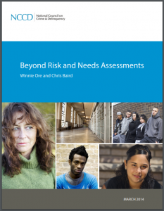 Beyond Risk and Needs Assessments Cover