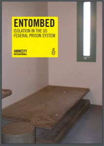 Entombed: Isolation in the US Federal Prison System Cover
