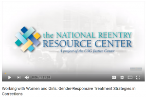 Working with Women and Girls: Gender-Responsive Treatment Strategies in Corrections Cover
