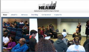 HEARD - Helping Educate to Advance the Rights of the Deaf Cover