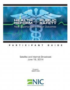 Health Reform and Public Safety cover