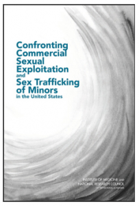 Confronting Commercial Sexual Exploitation and Sex Trafficking of Minors in the United States Cover