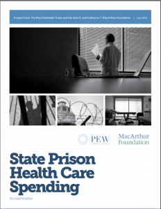 State Prison Health Care Spending: An Examination cover