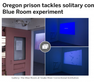 Oregon Prison Tackles Solitary Confinement with Blue Room Experiment Cover