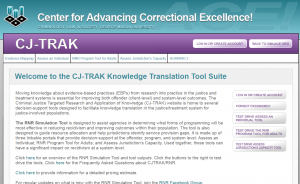 CJ-TRAK Knowledge Translation Tool Suite Cover