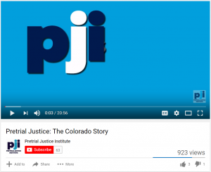 Pretrial Justice: The Colorado Story Cover