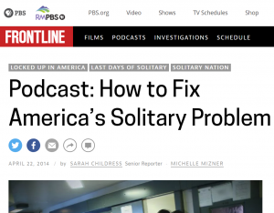 Podcast: How to Fix America's Solitary Problem Cover