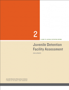 Juvenile Detention Facility Assessment: 2014 Update Cover