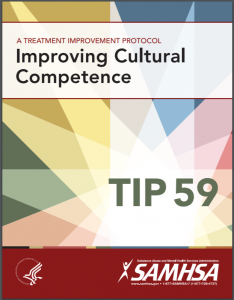 TIP 59: Improving Cultural Competence Cover