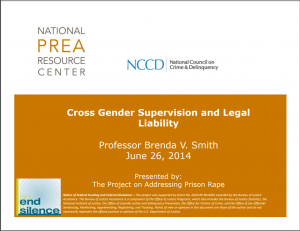 Cross Gender Supervision and Legal Liability [Webinar] Cover