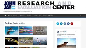 Positive Youth Justice Website Cover
