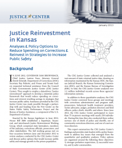 Justice Reinvestment Cover