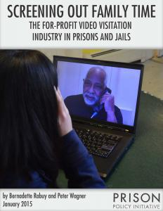 Screening Out Family Time: The For-Profit Video Visitation Industry in Prisons and Jails Cover