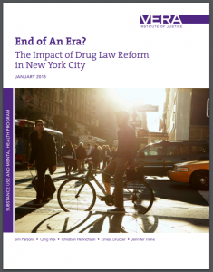 End of An Era? The Impact of Drug Law Reform in New York City Cover