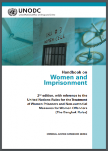 Handbook on Women and Imprisonment Cover