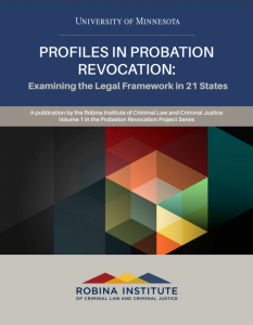 Profiles in Probation Cover
