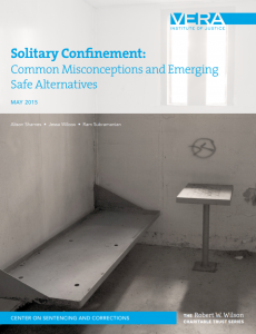 Solitary Confinement Cover