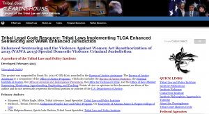 tribal legal code cover