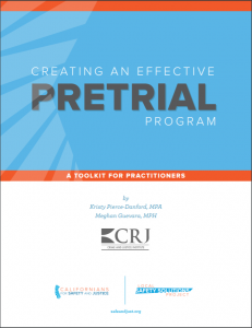 creating an effective pretrial program cover
