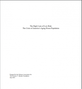 The High Costs of Low Risk: The Crisis of America's Aging Prison Population cover