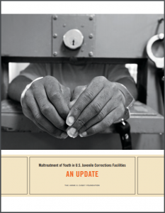 Maltreatment in Juvenile Corrections Facilities: An Update Cover