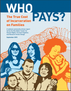Who Pays? The True Cost of Incarceration on Families Cover