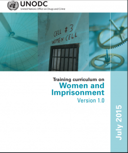 Training Curriculum on Women and Imprisonment, Version 1.0 cover
