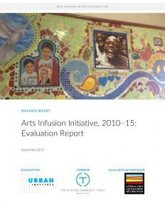 Arts Infusion Initiative, 2010-15 Cover