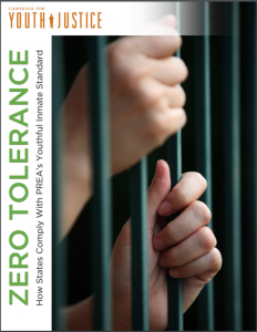 Zero Tolerance: How States Comply with PREA's Youthful Inmate Standard Cover