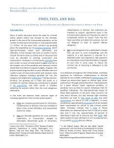 Fines, Fees, and Bail Cover