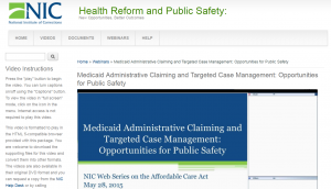Medicaid Administrative Claiming and Targeted Case Management Cover