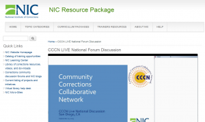 CCCN LIVE National Forum Discussion Cover