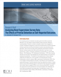 Analyzing Bond Supervision Survey Data Cover