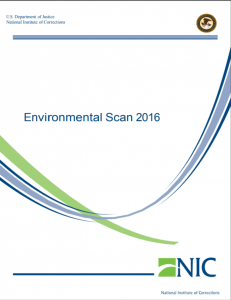 Environmental Scan 2016 cover