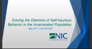Solving the Dilemma of Self-Injurious Behavior in the Incarcerated Population Image