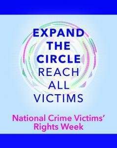 National Crime Victims' Rights Week Poster