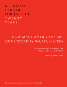 Cover image for How many Americans are Unnecessarily Incarcerated