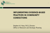 Implementing Evidence-based Practices Cover