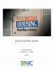 Restrictive Housing Facilitator Guide Cover